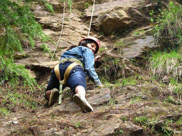 Rock Climbing In Rishikesh Tour