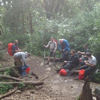 7Days Machame Route Climbing Tour