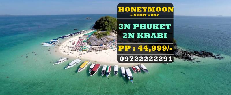 Honeymoon : 5n6d Phuket Krabi