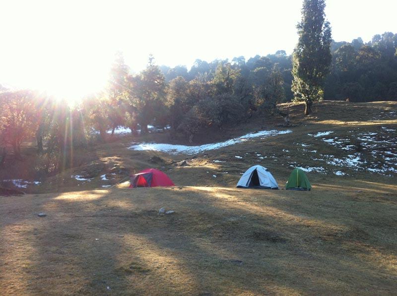 Deoriataal Rohini Bugyal Chandrashila Trek Tour
