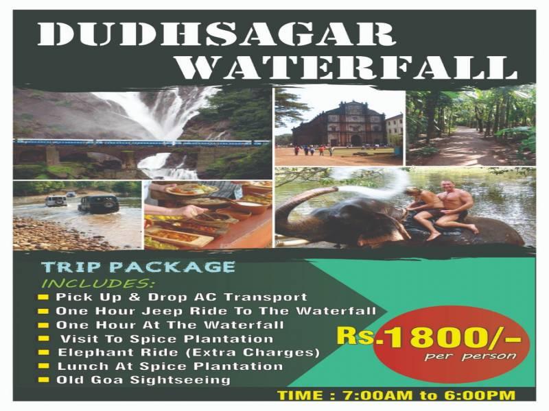 01 Day Package Dudhsagar Waterfall Trip