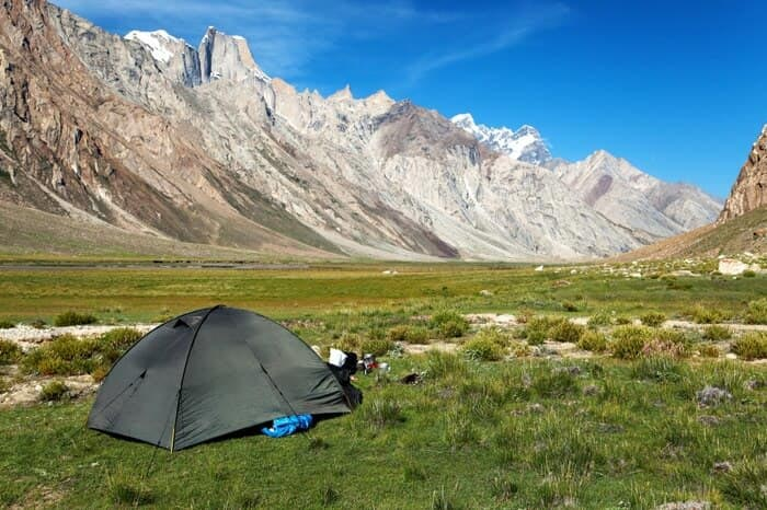 Camping In Zanskar Valley Package