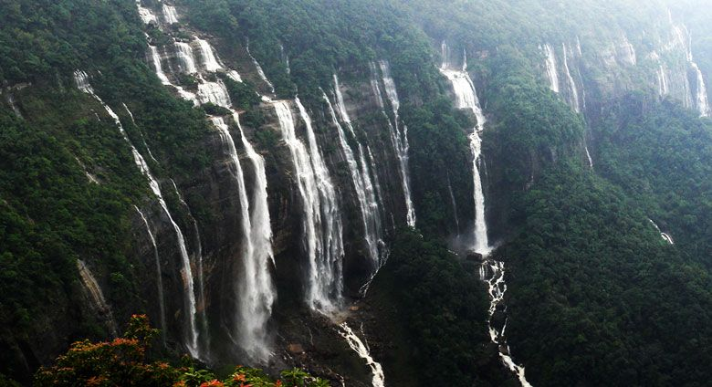 Day Trip Cherapunjee Full Day Tour Timing 8 To 9 Hours