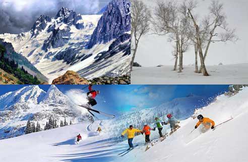 Skiing In Gulmarg Package