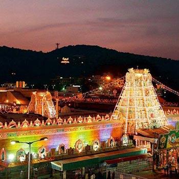 Tirupati, Kanipakam & Vellore Golden Temple 2N/3D Tour