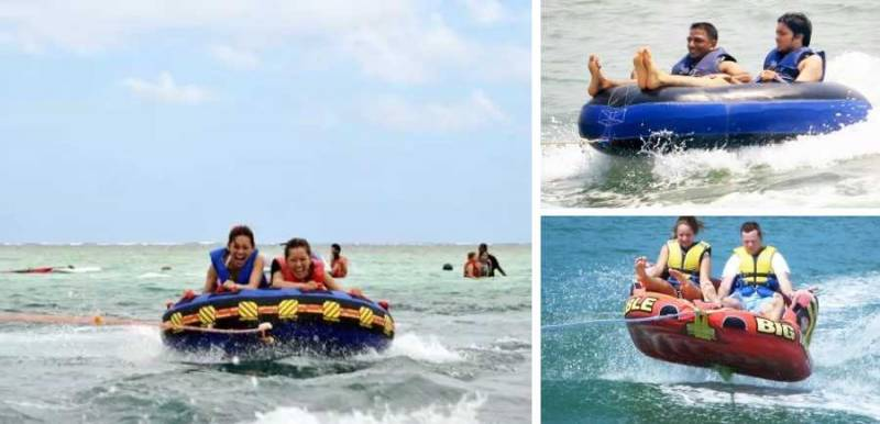 Water Sports Package At Calangute Beach Code: Tr Dly F