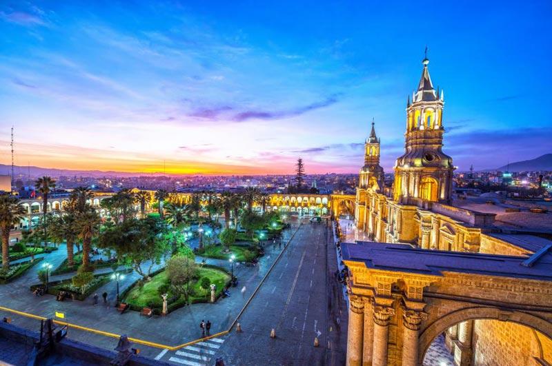 Peru Puno, Arequipa South America Tour