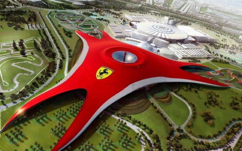 Dubai Abu Dhabi With Ferrari Park Tour