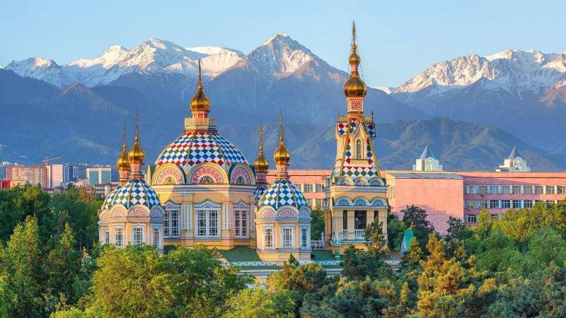 ALMATY TOUR ( THE CITY OF THOUSAND COLORS)