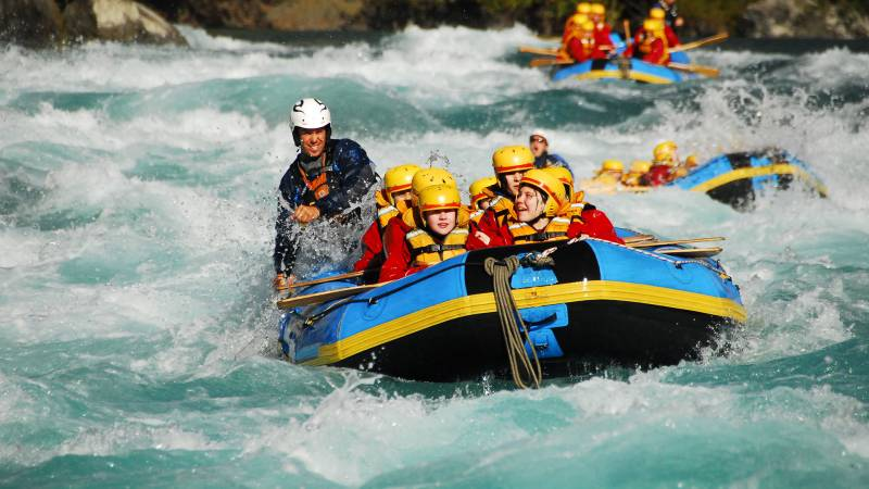 Trishuli White Water Rafting Tour