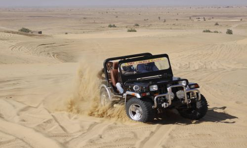 Rajasthan Jeep Safari Tour