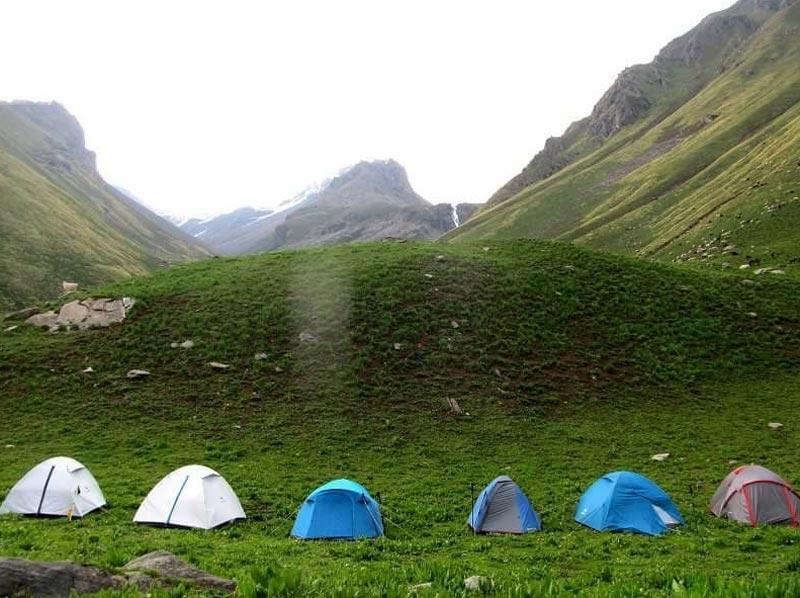 Buran Ghati Barua Pass Trek Tour
