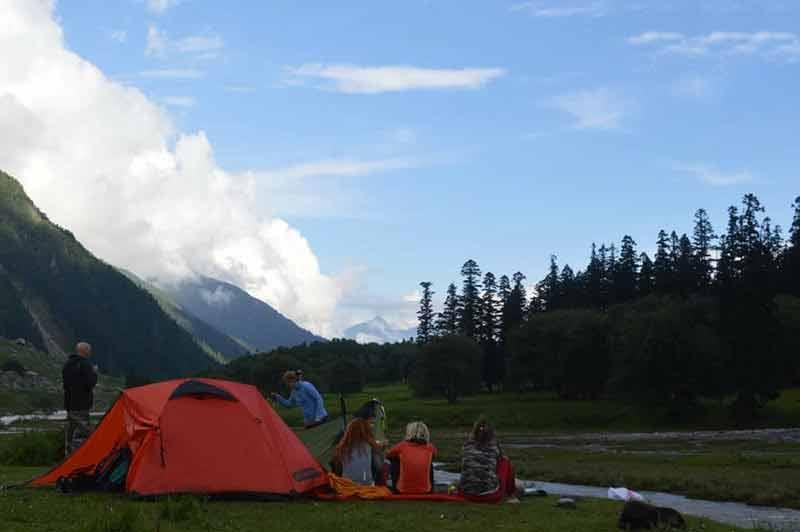 Kaara Lake Trek Bhabha Valley, Kinnaur - 6 Days - Includes Adventure Activities