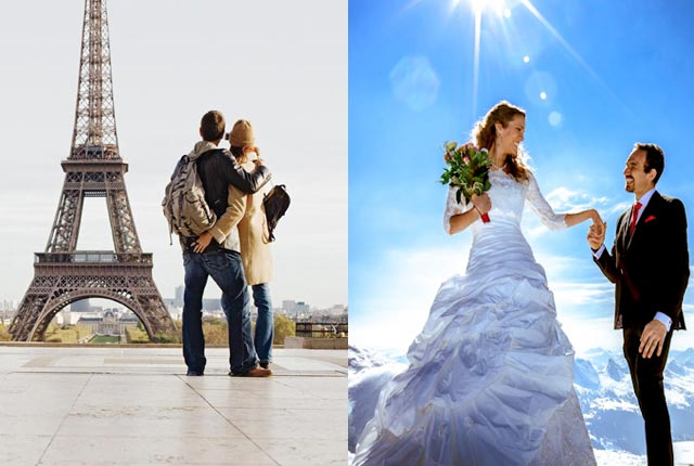 Paris With Nice Honeymoon Package