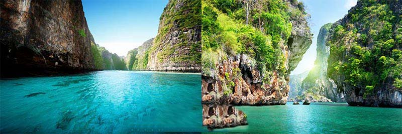 Romantic Phuket Krabi Tour