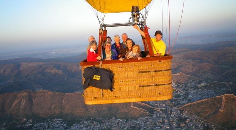 Golden Triangle With Sky / Balloon Safari Tour