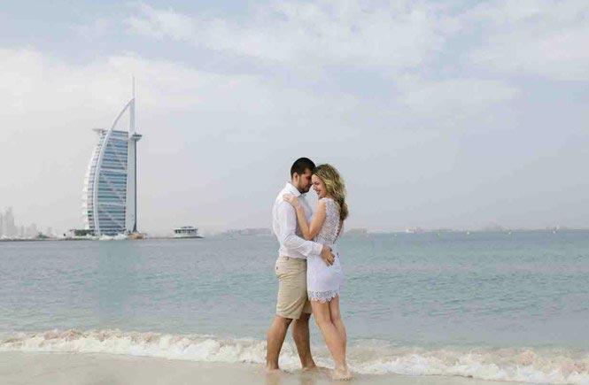 Romantic Dubai Honeymoon Tour Package  4 Nights / 5 Days