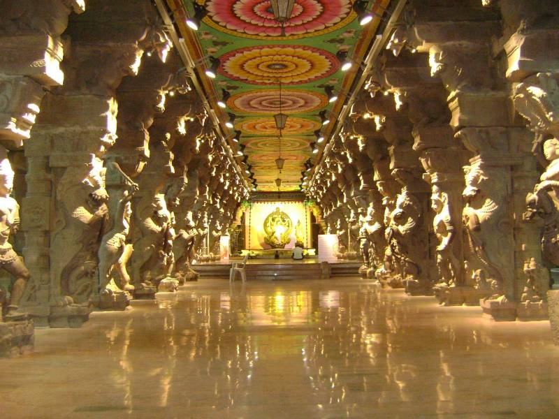 Madurai, Rameswaram, Kanyakumari,Trivandrum, Alleppey Tour