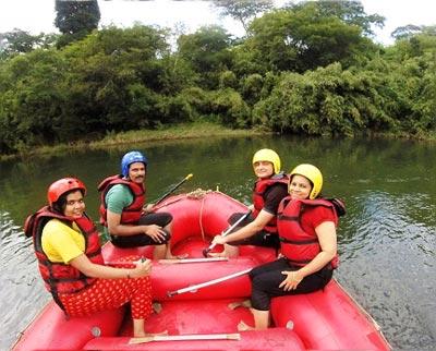 Kodagu White Water Rafting & Trekking Program Tour
