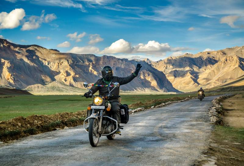 Leh Ladakh Bike Trip Package