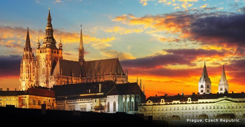 Prague, Salzburg, Vienna & Budapest Tour