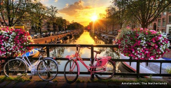 The Netherlands, Belgium, Germany & Switzerland Tour