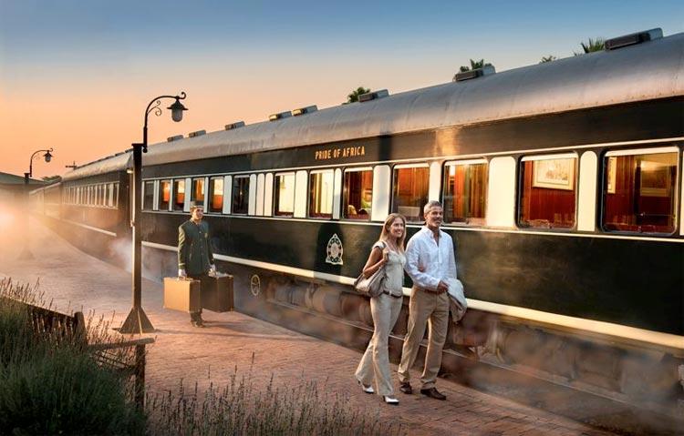Kruger Safari - Cape Town Luxury Rovos Rail Train Tour