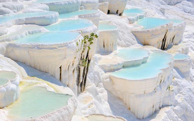 Pamukkale-Hierapolis Daily Tour