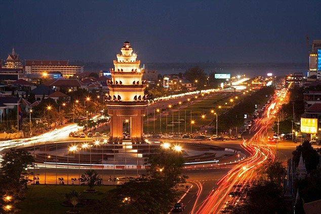 Phnom Penh 5D Tour