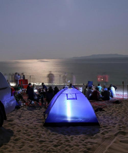 Sleeping Under The Stars Wild Camping Tour