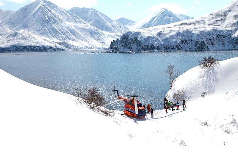 Kamchatka Heli Skiing Adventure Package
