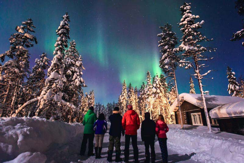 Northern Lights Discovery In Russia Package