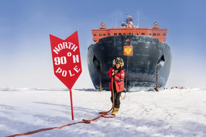 Top Of The World, North Pole Cruise Package