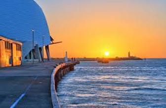 Ocean Sunset Fremantle & City Lights Tour
