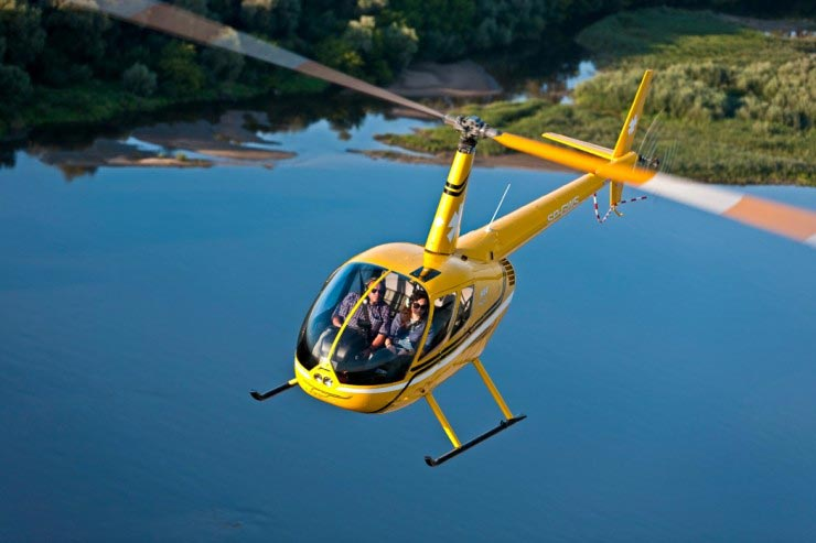 Viewing Helicopter Flights Over Krakow Package
