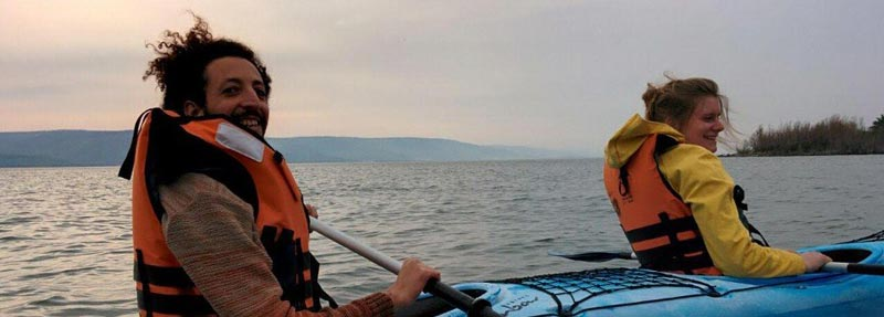 Kayaking In The Sea Of Galilee Tour Package