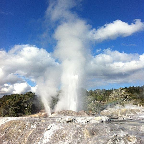 Rotoura, Taupo, Waitomo Caves Two Day Tour