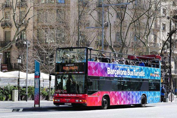 Barcelona Hop-on Hop-off Bus Tour Package