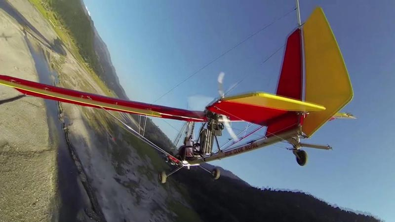 Ultra Light Aircraft In Nepal Tour