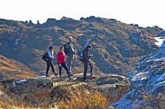 Pondo-voyager Hiking Trail, Tour