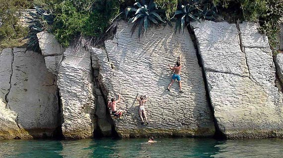 Deep Water Soloing In Adriatic Package