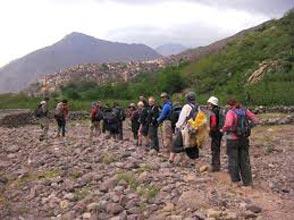 Full Day Trek In The High Atlas Mountains