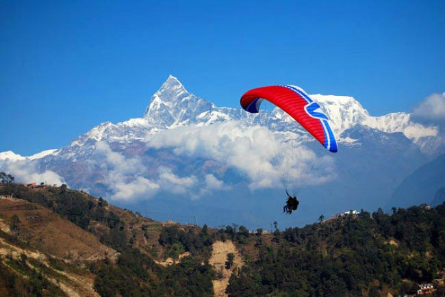 Paragliding In Pokhara Tour