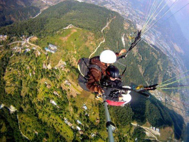 Paramotoring In Nepal