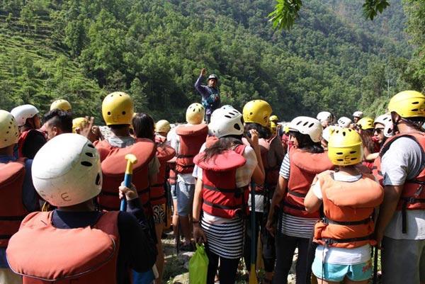 Sunkoshi River Rafting Tour