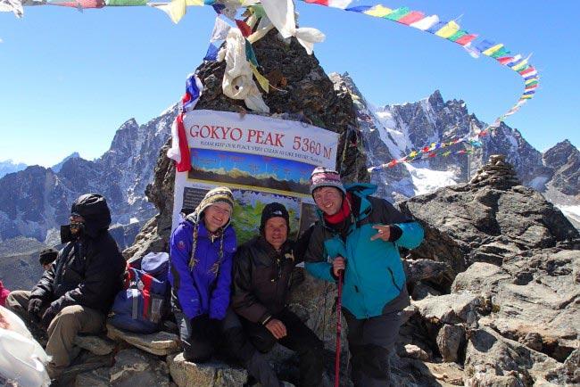 Everest Trek Through Gokyo Lakes Tiur