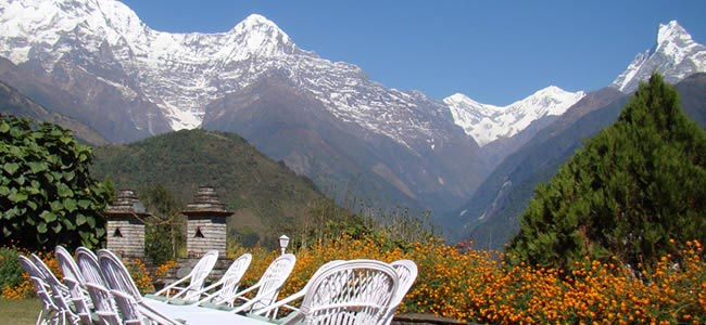 Trekking & Luxury Lodges Annapurna Foothills Tour