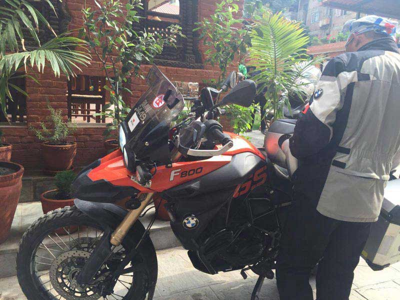 Kathmandu Motor Bike Tour