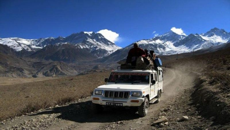 Jomsom Muktinath With Chitwan Jeep Safari Tour