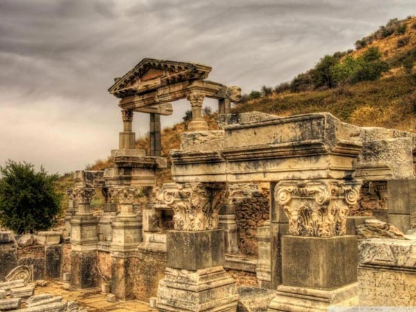 The Ancient City Of Ephesus & Temple Of Artemis & House Of Virgin Mary & Ephesus Museum Tour
